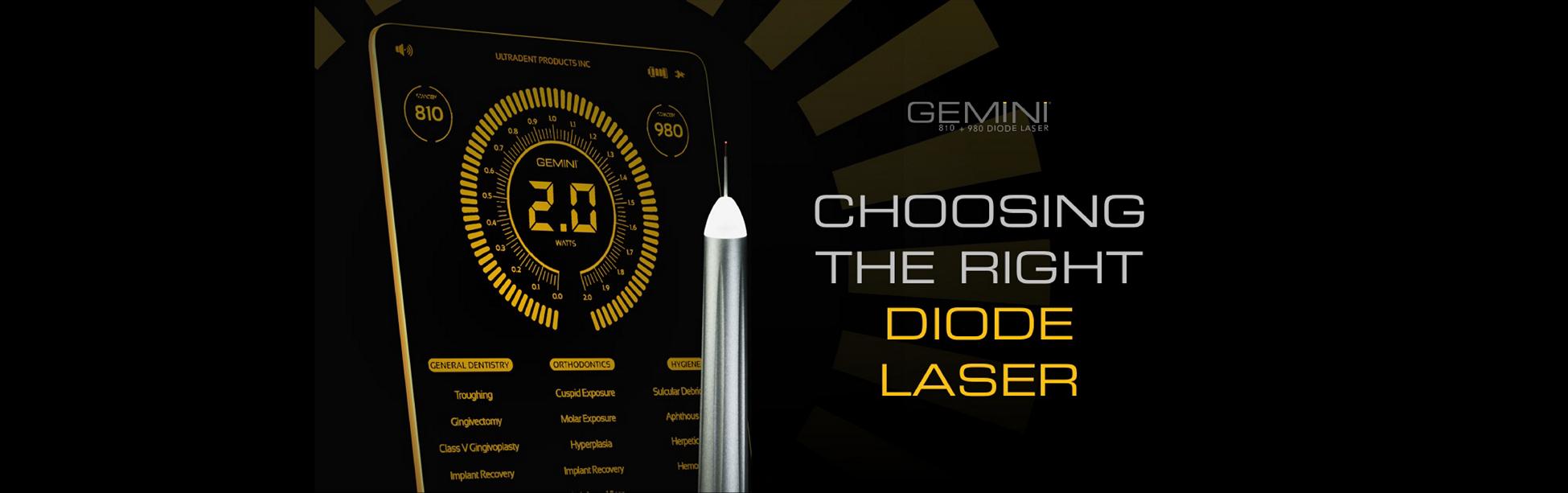 Gemini 810+980 diode laser