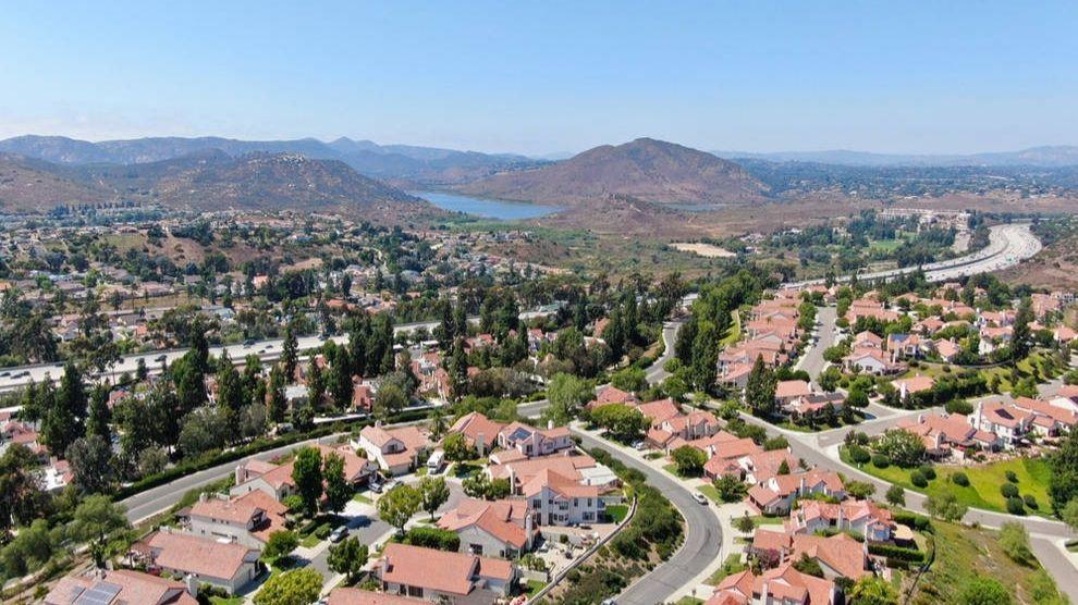 Aerial view of Rancho Bernardo