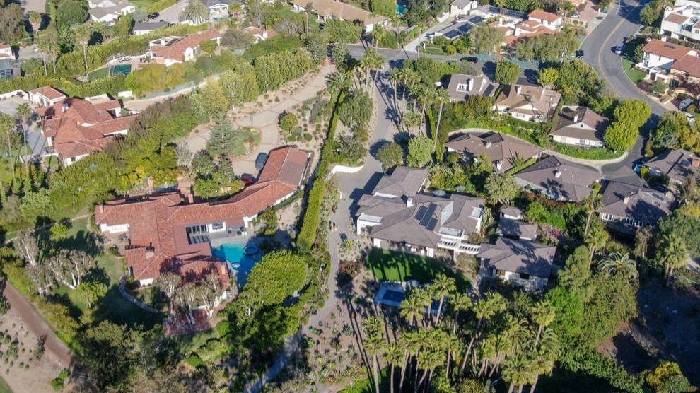 Aerial view of Rancho Santa Fe