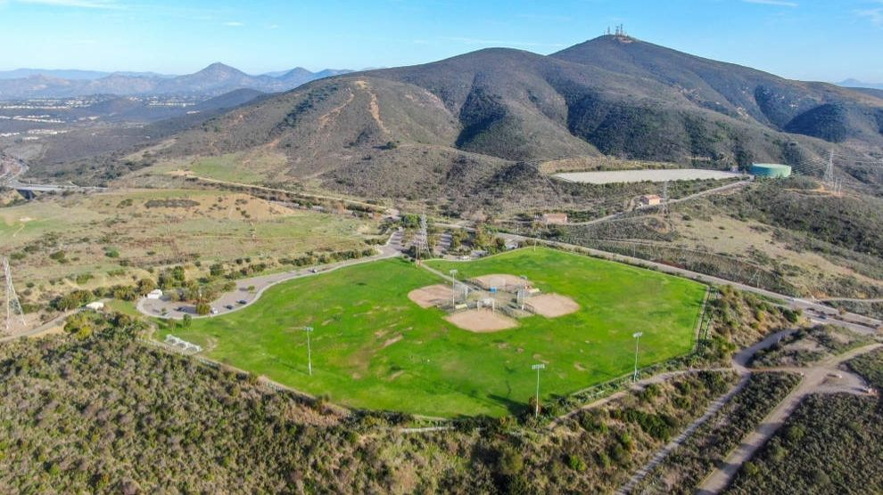 Aerial view of park in Black Mountain Ranch