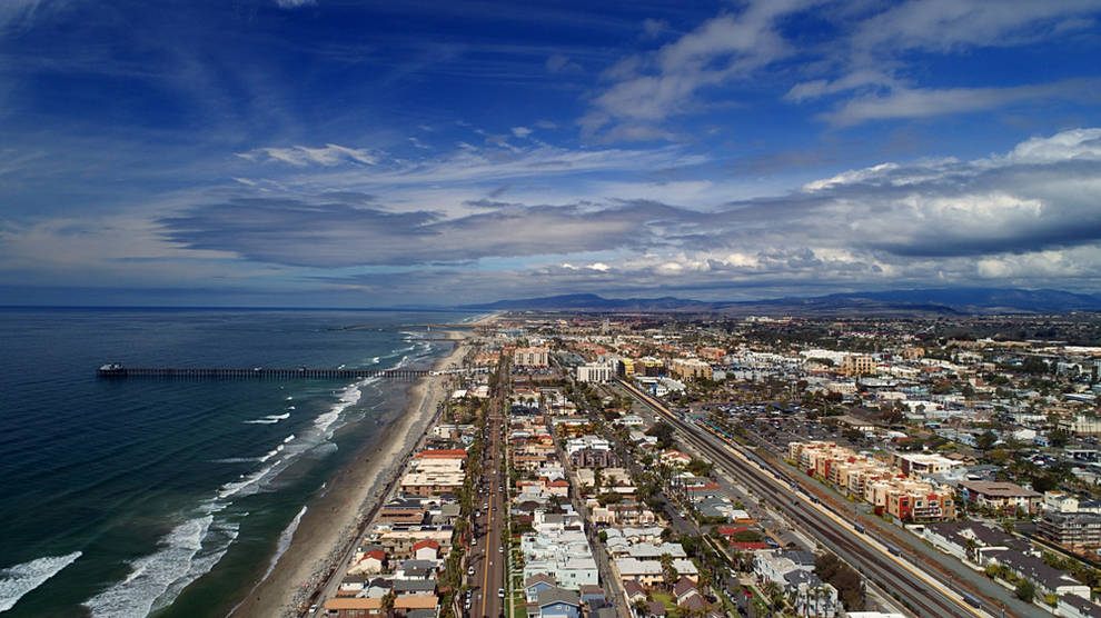 Aerial view or North County - Dental Fillings in San Diego North County